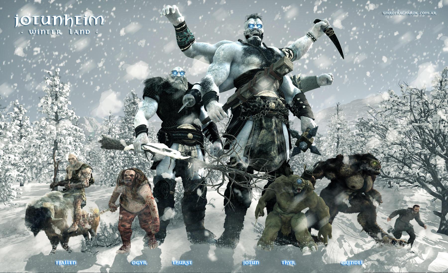 Jotunheim - Winter Land by warofragnarok