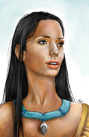 Real Princess: Pocahontas by LiberianGurrl