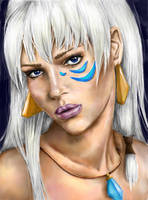 Real Princess: Kida by LiberianGurrl
