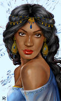 Real Princess: Jasmine by LiberianGurrl