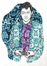 Alex Turner III by LiberianGurrl