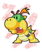 Baby Bowser by Scars1023