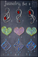 Jewelry Set 4 (CLOSED) by Rittik-Designs