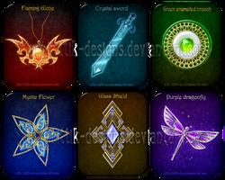 Magic items adopts 2 (CLOSED) by Rittik-Designs