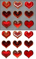 Hearts (free stock) by Rittik-Designs