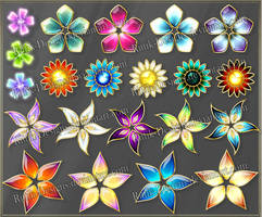 Flowers 1 (downloadable stock) by Rittik-Designs