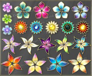 Flowers 1 (downloadable stock) by Rittik-Designs