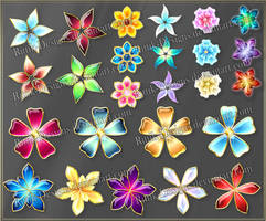 Flowers 2 (downloadable stock) by Rittik-Designs