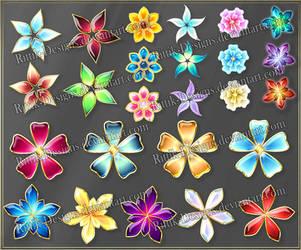 Flowers 2 (downloadable stock) by Rittik-Designs