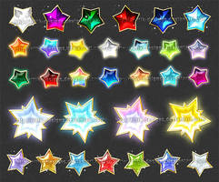 Stars 1 (downloadable stock) by Rittik-Designs