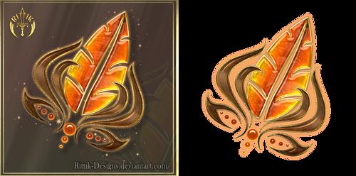 Autumn Jewel (free stock) by Rittik-Designs