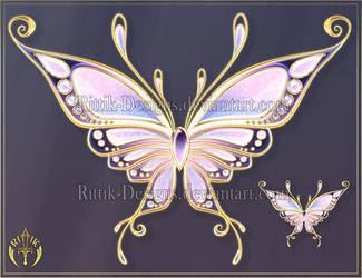 Wings 4 (downloadable stock) by Rittik-Designs