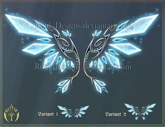 Wings 5 (downloadable stock) by Rittik-Designs