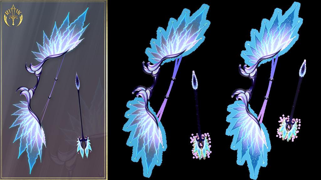 Magic Bow (free stock) by Rittik-Designs