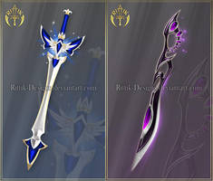 Swords adopts 25 (CLOSED) by Rittik-Designs