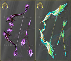 (CLOSED) Bows adopts 8 by Rittik-Designs