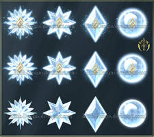 Elements 2 - Ice (downloadable stock) by Rittik-Designs