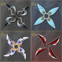 (CLOSED) Shurikens adopts 8 by Rittik-Designs
