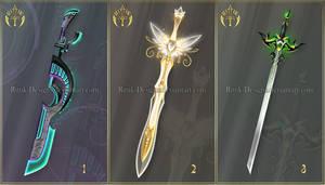 (CLOSED) Swords adopts 36 by Rittik-Designs