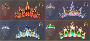 (CLOSED) Diadems adopts 16 by Rittik-Designs