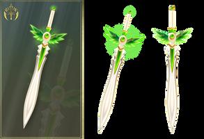 Summer sword (free stock) by Rittik-Designs