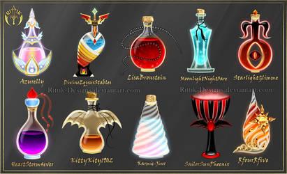 Halloween contest - Prizes by Rittik-Designs