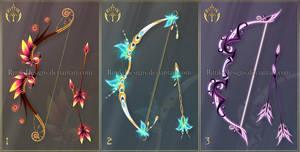 (CLOSED) Bows adopts 10 by Rittik-Designs