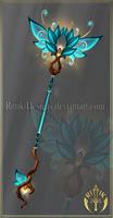 (CLOSED) Druid's Staff by Rittik-Designs