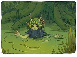 Mistress of the Bog by Osato-kun