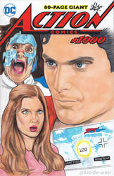 Superman 3 Christopher Reeve Annette O'Toole Art by Kez-the-artist
