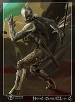 Raiden MGS4 by Hokunin