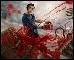 Evil Dead by Hokunin