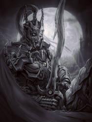 Dead knight by Hokunin