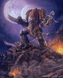 Primal Howl by Hokunin
