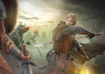 Swordsman by Hokunin