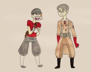 R: Scout n Medic by FinLin