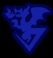 Xros Wars - Blue Flare Logo by Seiji-Murayama