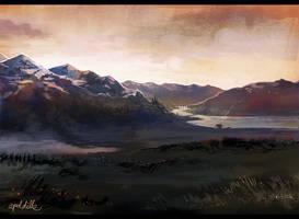 landscape II by apeldille