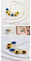 The Legend of Zelda - OoT Song Necklace by artshell