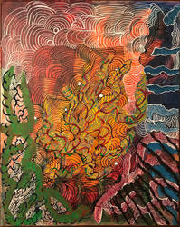Paint doodle by EdMatter