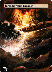 Terramorphic Expanse - Alter art by TomGreystone