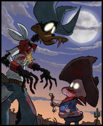 Dripalong Zombies by justinridge
