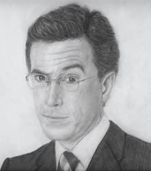 Stephen Colbert by Jules89