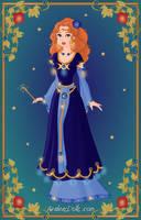 Goddess - Danu by LadyYui