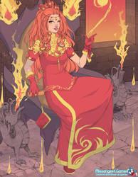 Pyromancer by LadyYui