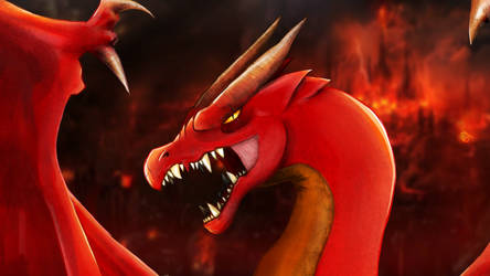 Red Dragon by JaNightmare