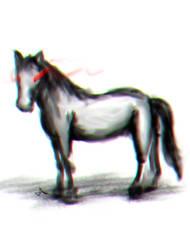 Dark Horse by JaNightmare