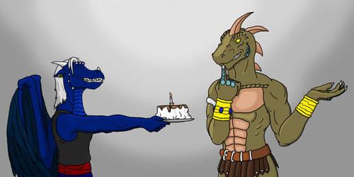 Happy birthday Reptile by RazenHashikado