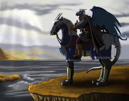 The travelling warrior by ReptileCynrik by RazenHashikado