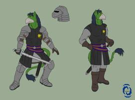 Beren Armored up and Clothes by RazenHashikado
